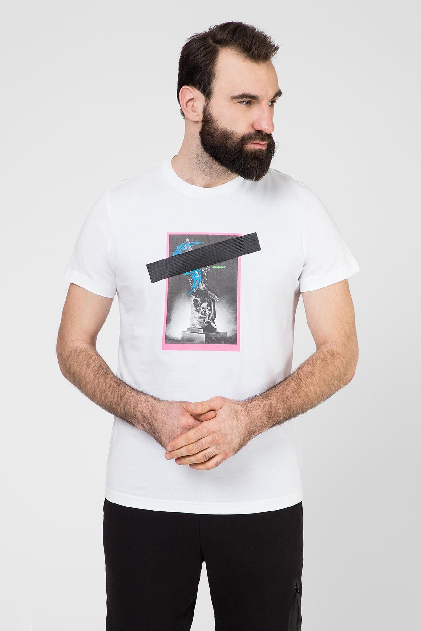 Мужская белая футболка T-DIEGO-S8 Diesel