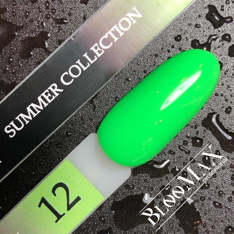 Гель лак с ароматом клубники Summer collection №12, 12 мл