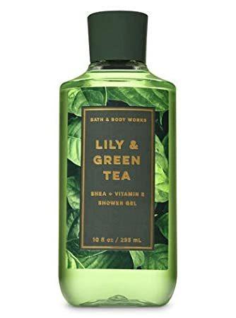 Гель для душа Bath&BodyWorks Lily & Green tea 295 мл