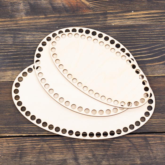Донышки для корзин Набор из 3 донышек эллипс из фанеры 25×15, 20×15, 20×10 см (нешлифованные) IMG_9082.jpg
