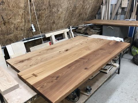 Подоконники + подоконники переходящие в стол