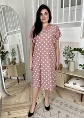 Сесіль. Романтична весняна сукня. Фрезовий