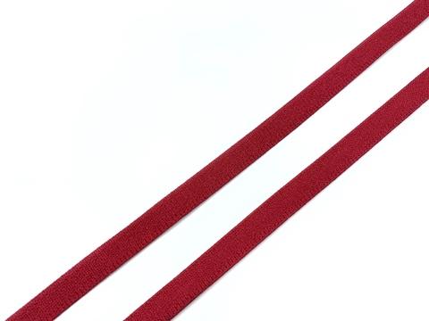 Резинка отделочная темно-красная 10 мм (цв. 101)