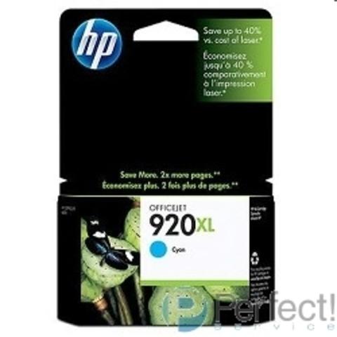 HP CD972AE Картридж №920XL, Cyan {Officejet 6000/6500, Cyan}