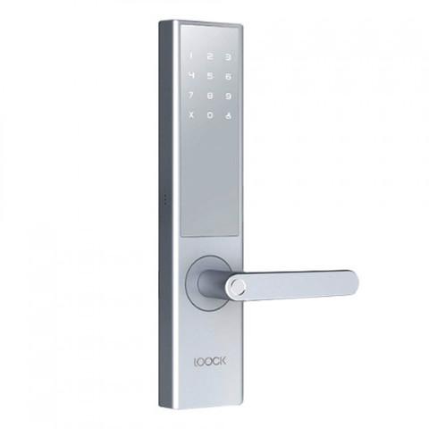 Умный дверной замок Xiaomi Loock Intelligent Fingerprint Door Lock Classic (серебро)