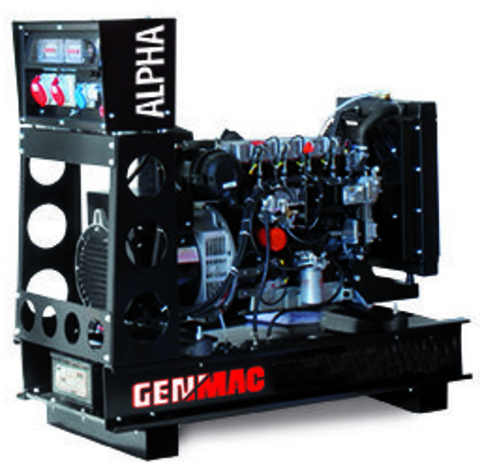 Дизельный генератор Genmac G30PO