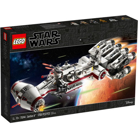 LEGO Star Wars: Тантив IV 75244 — Tantive IV — Лего Звездные войны Стар Ворз