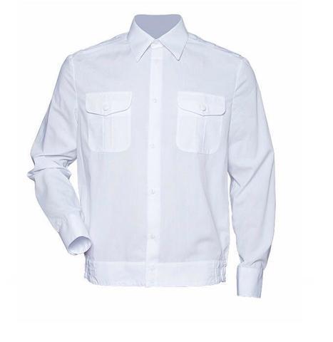 Рубашка форменная мужская дл/рук. белая
