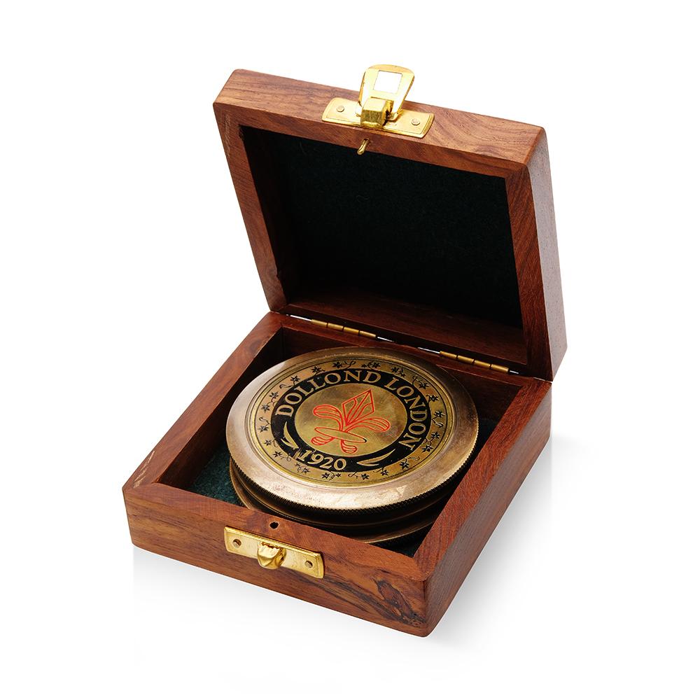 Подарочный компас Dollond London 1920
