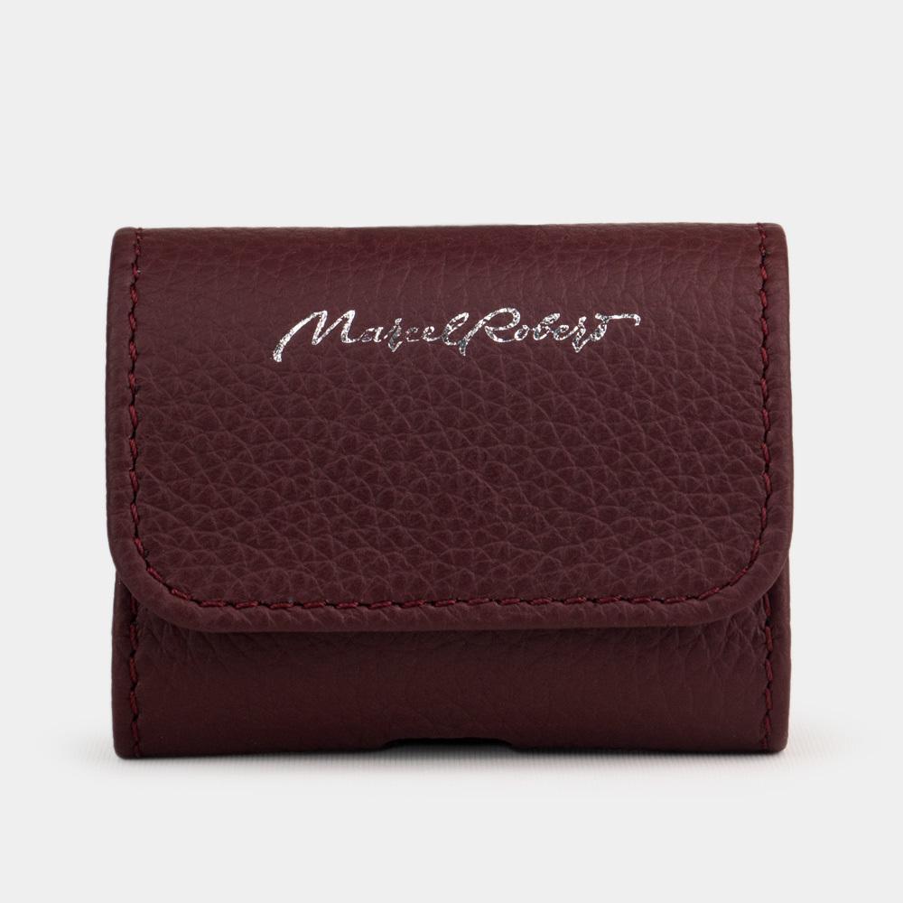 AirPods Pro leather case  - BORDEAUX