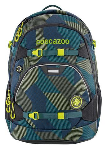 Рюкзак Coocazoo ScaleRale Polygon Bricks темно-синий/серый