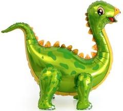 Ходячий шар Динозавр Стегозавр зеленый