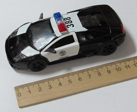 Модель КТ5317DP Ламборгини полиция 1:32