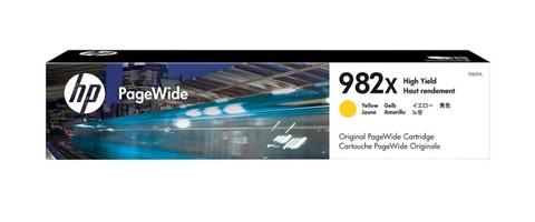 Оригинальный картридж струйный HP T0B29A (№982X) желтый
