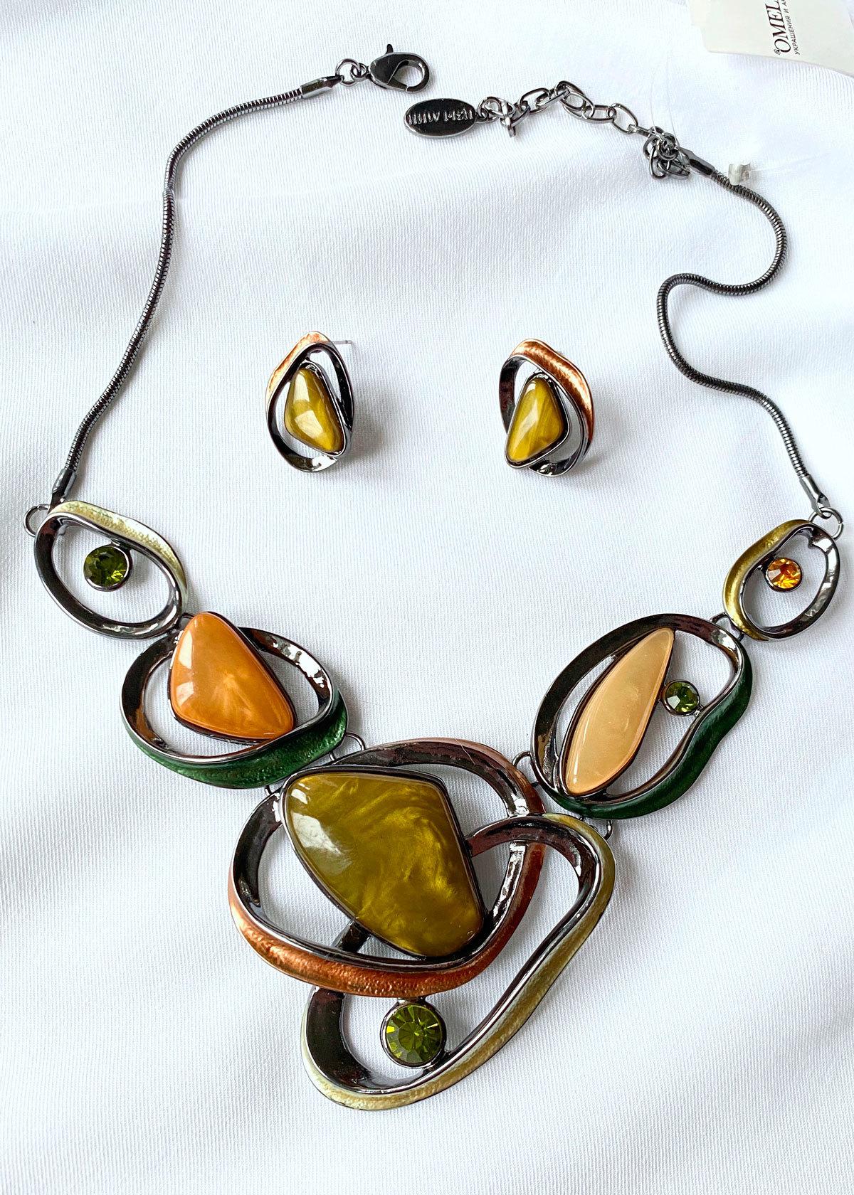 Комплект Арт Плей Мод.10 оливковый (акрил стекло глазурь)