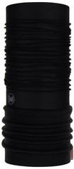 Элитная тёплая мультибандана Buff Polar Solid black