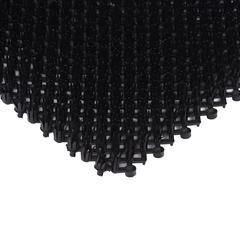 Коврик-дорожка ТРАВКА, черный, без подложки, 0,98*11,8 м
