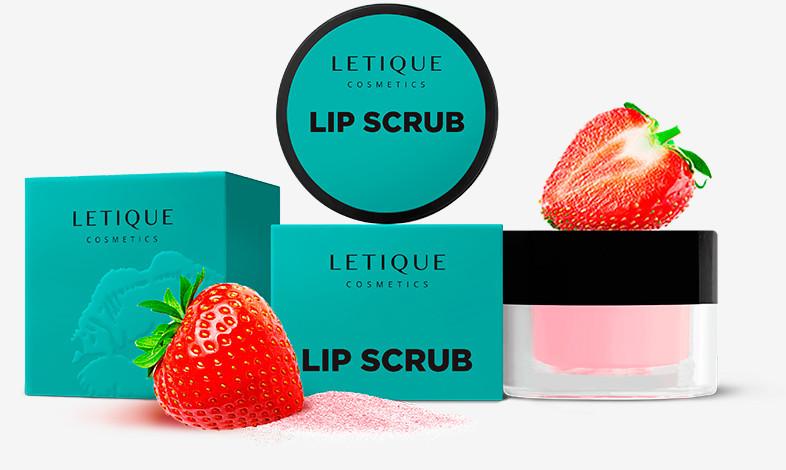 Скраб для губ Letique Cosmetics Lip Scrub Sweet Strawberry