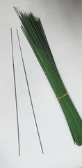 Проволока флористическая в пластике, зеленая, 10 шт.