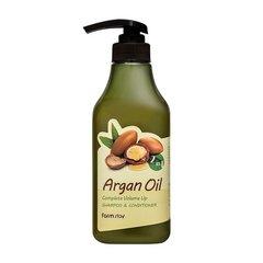 Farm Stay - Шампунь-кондиционер с аргановым маслом, 530мл