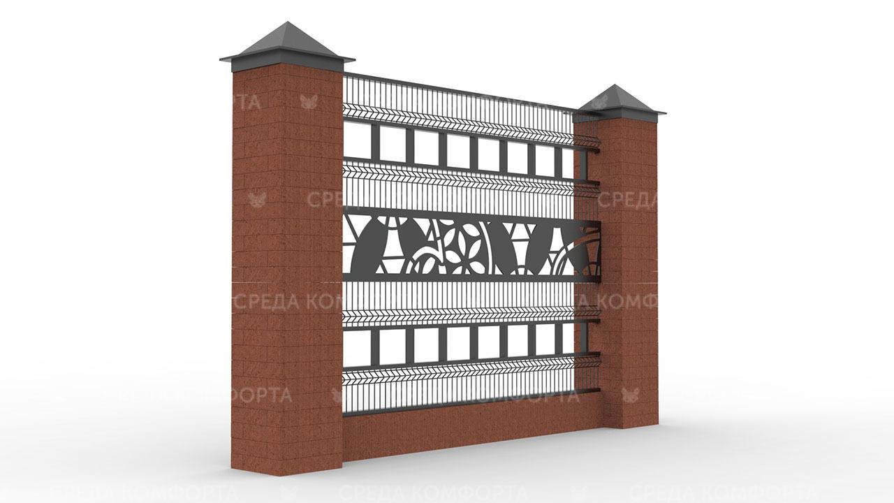 Забор 3Д ZBR0092