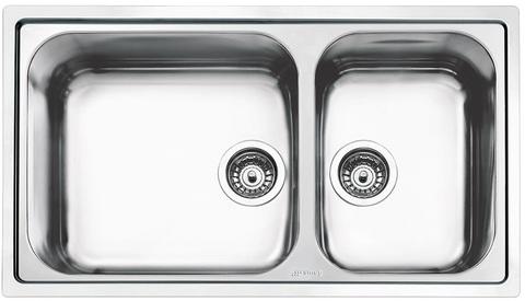 Кухонная мойка Smeg LG862-2