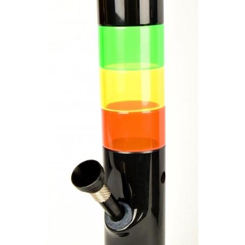 Бонг акриловый Blend Theme Black H:30см Ø:40мм