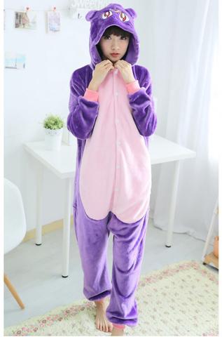 Кигуруми Фиолетовая Кошка