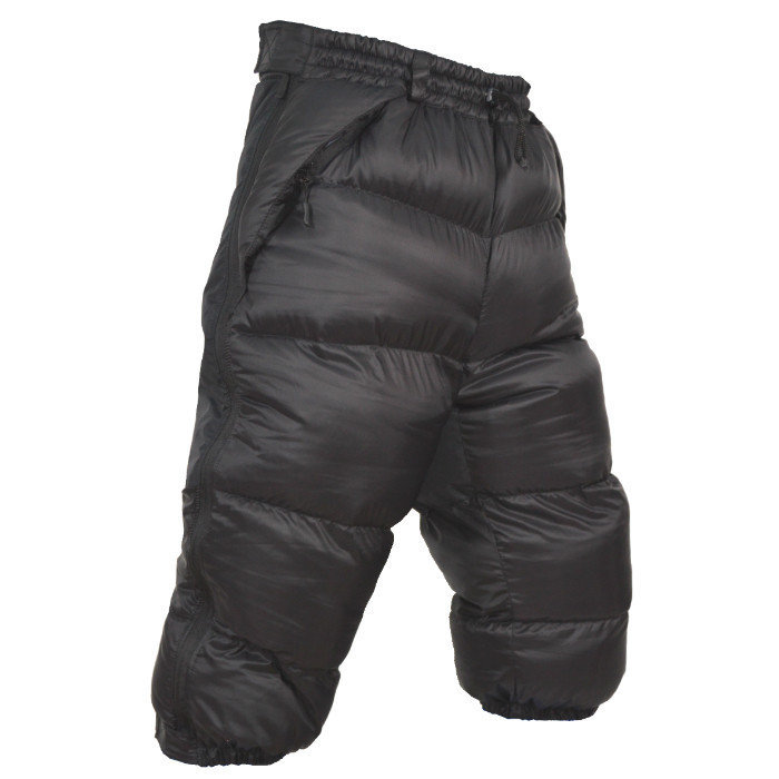 Пуховые шорты-самосбросы Крокусы