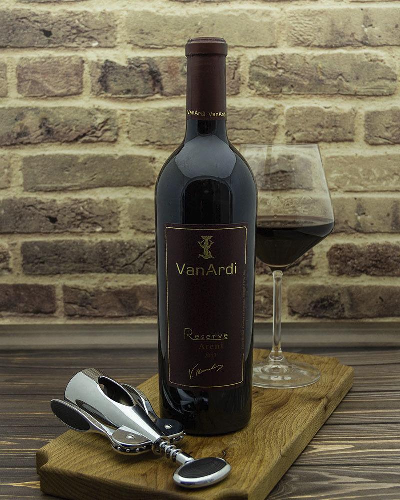 Вино Van Ardi Красное Сухое Резервное 2017 г.у. 13,5% 0,75 л.