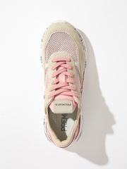 Комбинированные кроссовки Premiata Scarlett 5229 на шнуровке