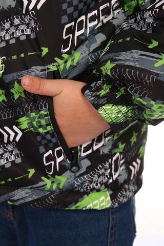 Куртка зимняя детская Форсаж (мембранная ткань) зеленый