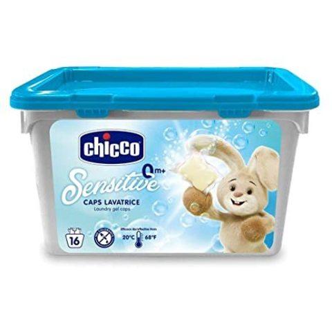 Chicco. Средство для стирки детского белья в капсулах, 20 шт.