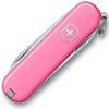 Нож-брелок Victorinox Classic SD, 58 мм, 7 функций, светло-розовый (подар. упаковка)