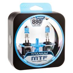 Галогенные лампы MTF Light TITANIUM H27 (880) 27W