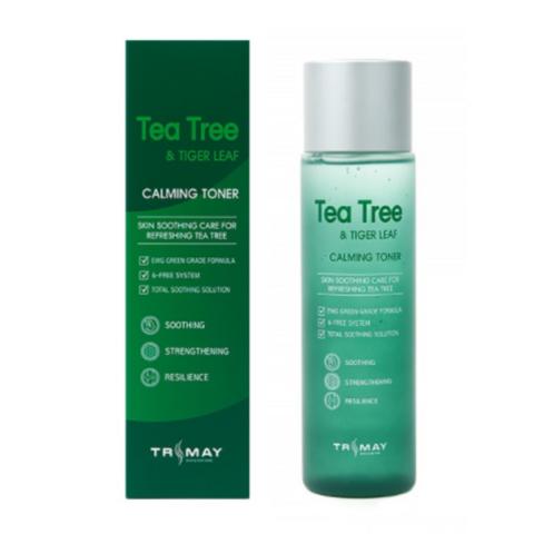 Успокаивающий тонер с чайным деревом и центеллой TRIMAY TEA TREE & TIGER LEAF CALMING TONER