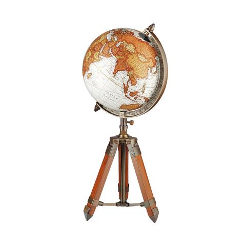 Глобус декоративный на треноге