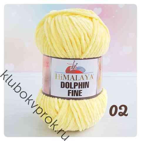 HIMALAYA DOLPHIN FINE 80502, Желтый