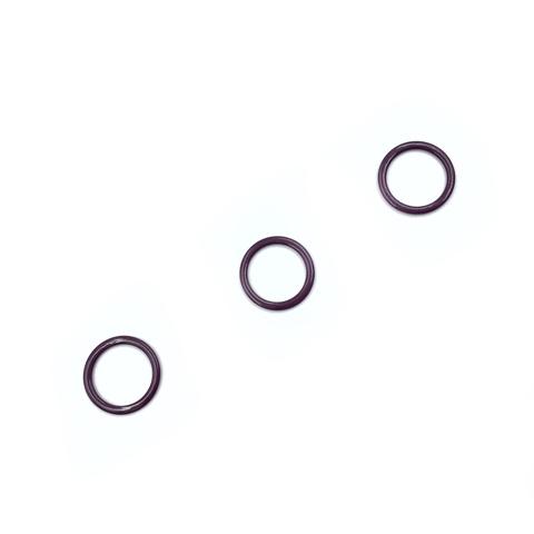 Кольцо для бретели слива 15 мм (цв. 076)
