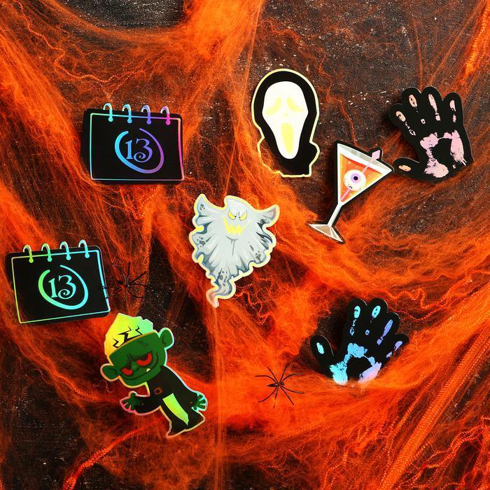 Карнавальный набор «Зомби» паутина, декор фото № 2