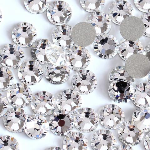 Стразы SS3 прозрачный кристалл 100 шт
