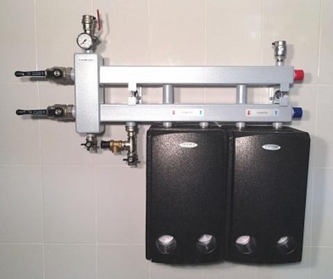Балансировочный коллектор - Гидрусс BM-60-3D с креплением