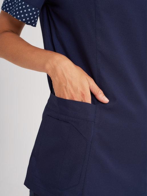 Блуза медицинская с карманами