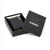 Зажигалка Zippo ZL* с покрытием Black Matte, латунь/сталь, чёрная с фирменным логотипом, матовая