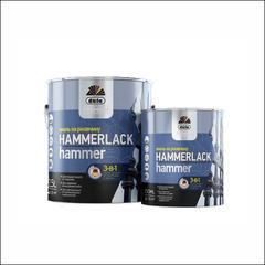 Эмаль молотковая на ржавчину Dufa Hammerlack (темно-серая)