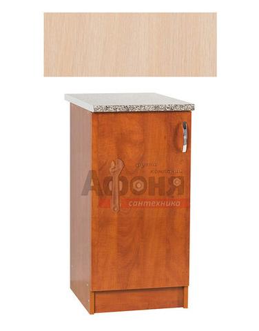 Рабочий стол  50 цвет дуб млечный,стол. ГРАНИТ (ЛДСП)
