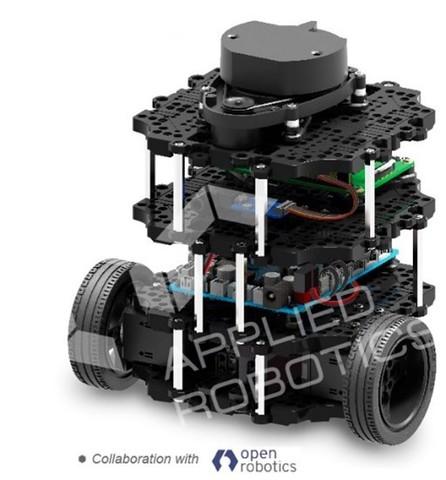 Комплект для изучения операционных систем реального времени и  систем управления автономных мобильных роботов
