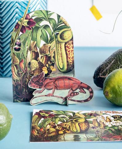 Открытка Pop out cards Lizard