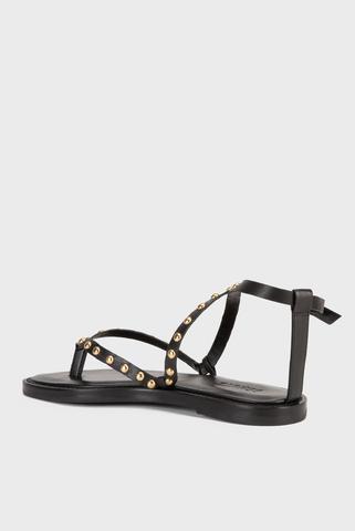 Женские черные сандалии Schutz