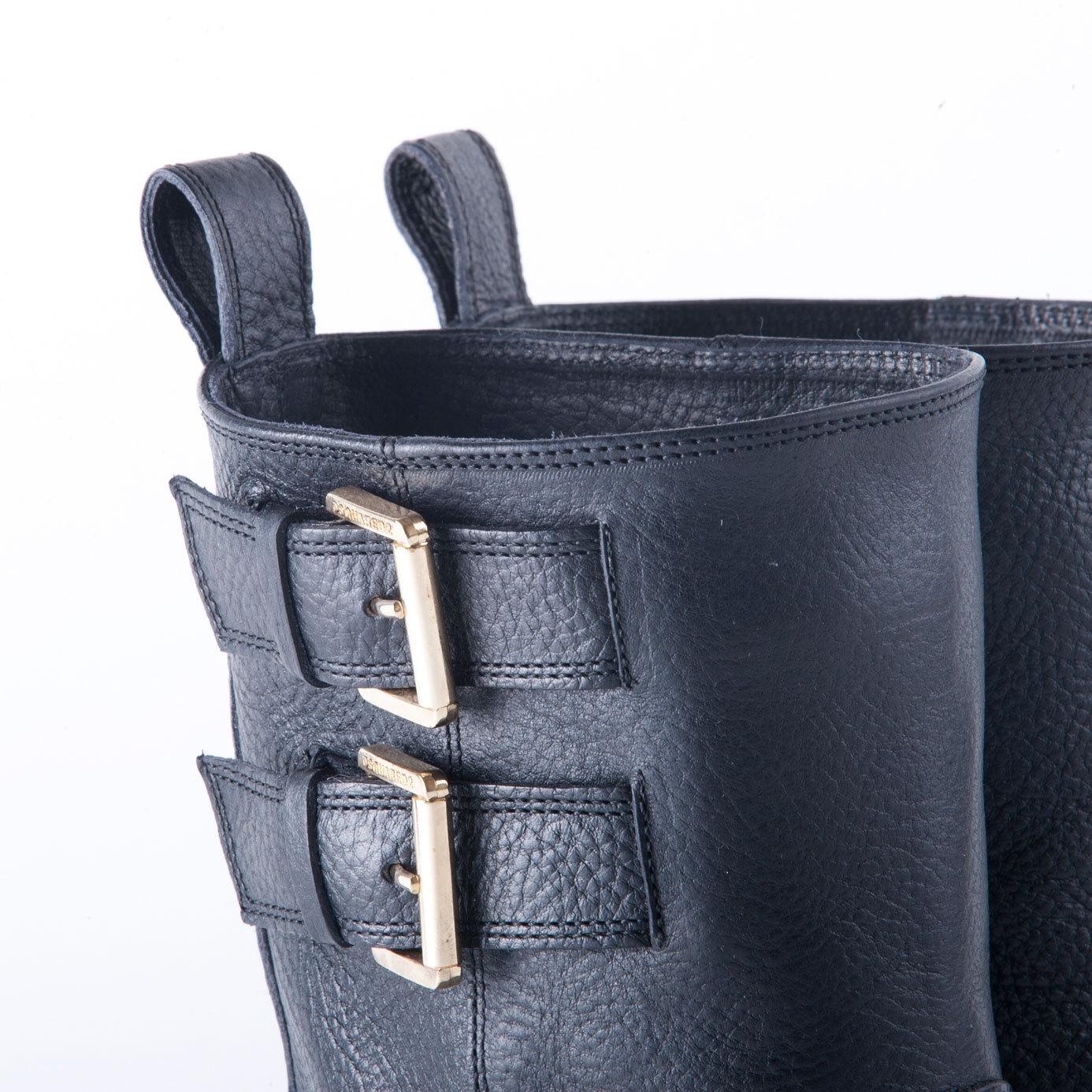 Сапоги кожаные DSQUARED2